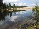 На озере около горы Недоступная