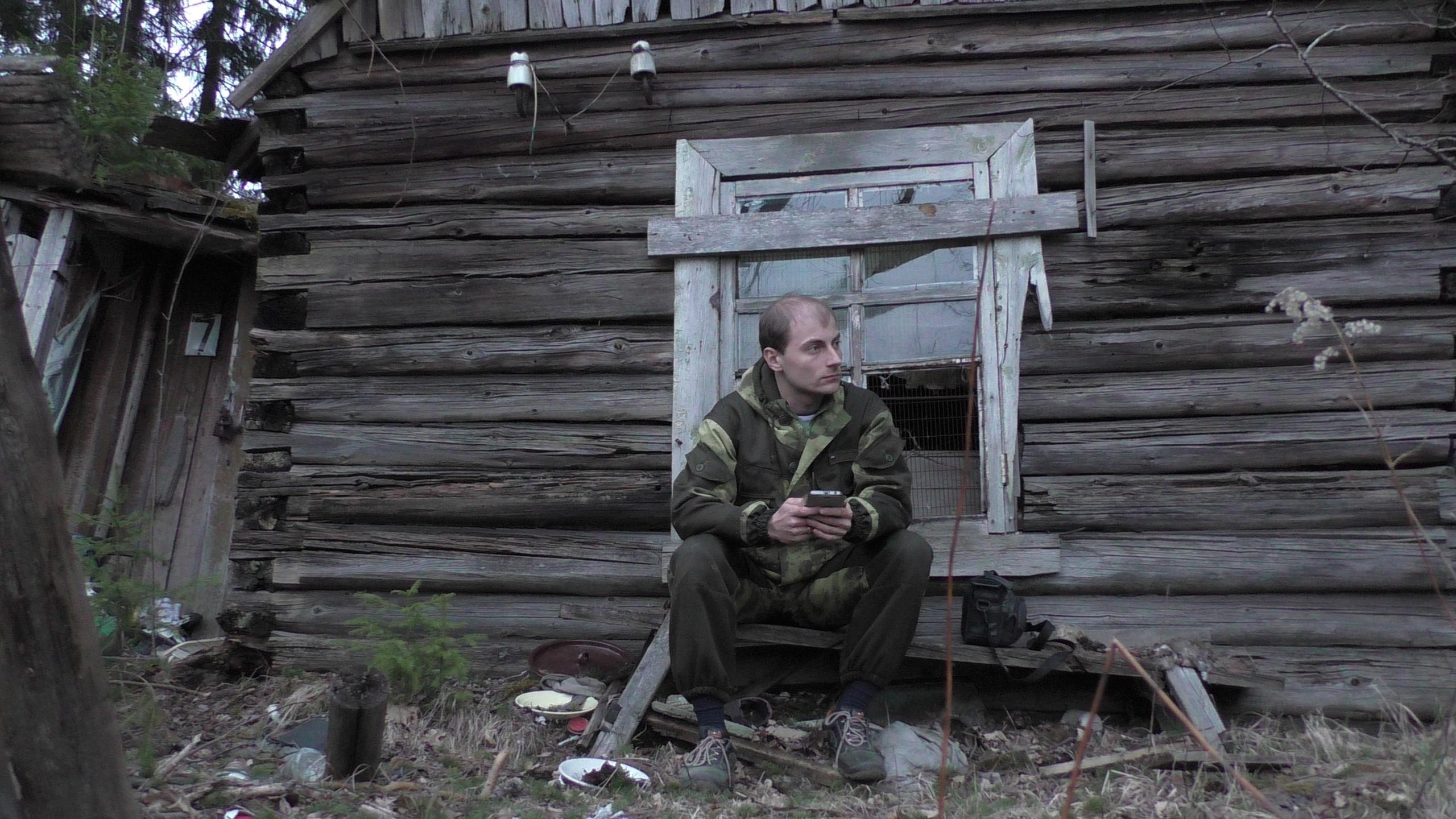 Заброшенная деревня в лесу / покинутый посёлок железнодорожников