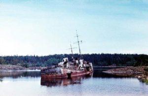 Радиоактивные острова Хейнясенмаа. Судно Кит