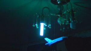 Как уберечься от коронавируса. Кварцевая ультрафиолетовая бактерицидная лампа. Мера профилактики.